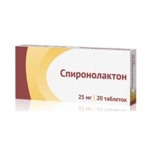 spironolakton nycomed 25 mg