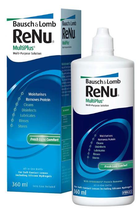 ReNu Multi Plus, раствор для обработки и хранения мягких контактных линз, 360 мл, 1шт. купить в Санкт-Петербурге, инструкция по применению, цена, отзывы и аналоги. Доставка в аптеку или на дом. Производитель препарата Bausch & Lomb Incorporated