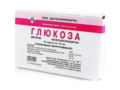 Глюкоза (для инъекций)