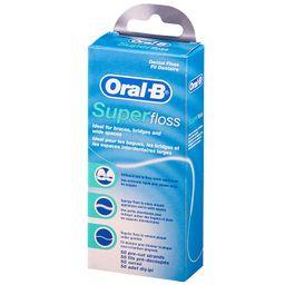 Зубная нить Oral-B Superfloss, нити зубные, 1 шт.