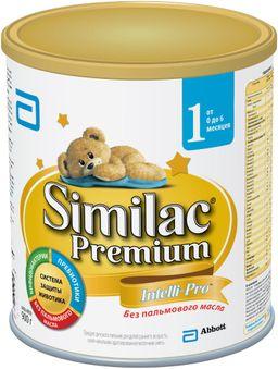 Similac Premium 1, смесь молочная сухая, для детей от 0 до 6 месяцев, 900 г, 1 шт.