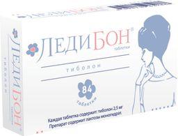 Ледибон, 2.5 мг, таблетки, 84 шт.