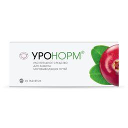 Уронорм, 678 мг, таблетки, покрытые оболочкой, 30 шт.