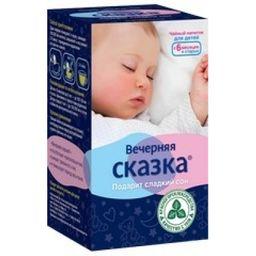Вечерняя сказка напиток чайный детский, напиток, 1,5 г, 20 шт.