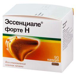 Эссенциале форте Н, 300 мг, капсулы, 90 шт.