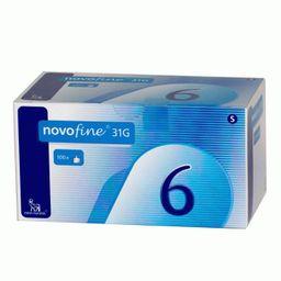 Иглы одноразовые НовоФайн 31G, 0.25х6 мм, 100 шт.