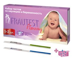 Frautest Тест для определения овуляции, тест-полоска, 5 шт.