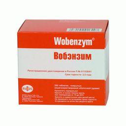 Вобэнзим, таблетки, покрытые кишечнорастворимой оболочкой, 200 шт.