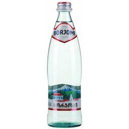 Вода минеральная Боржоми, лечебно-столовая газированная, в стеклянной бутылке, 0.33 л, 1 шт.