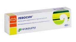 Левосин, мазь для наружного применения, 40 г, 1 шт.