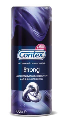 Гель-смазка Contex Strong, гель, с регенерирующим эффектом, 100 мл, 1 шт.