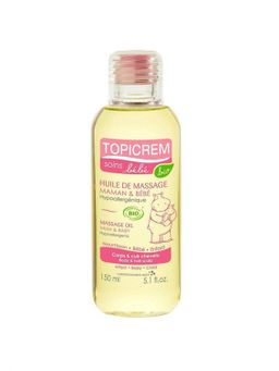 Topicrem Масло массажное для мам и детей, масло для детей, 150 мл, 1 шт.