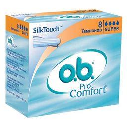 o.b. ProComfort super тампоны женские гигиенические, 8 шт.