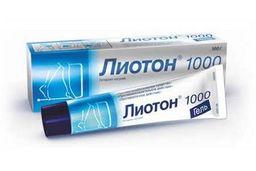 Лиотон 1000, 1000 ЕД/г, гель для наружного применения, 100 г, 1 шт.