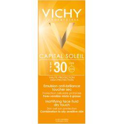 Vichy Capital Dry Touch SPF 30 эмульсия матирующая, эмульсия для наружного применения, 50 мл, 1 шт.