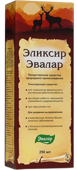 Эвалар эликсир, эликсир для приема внутрь, 250 мл, 1 шт.