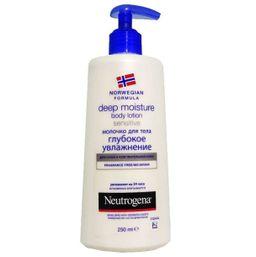 Neutrogena Норвежская формула Молочко для тела Глубокое увлажнение, молочко для тела, для чувствительной кожи, 250 мл, 1 шт.