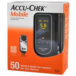 Глюкометр Accu-Chek Mobile, 1 шт.