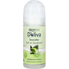 Doliva дезодорант роликовый Средиземноморская свежесть, 50 мл, 1 шт.