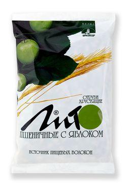 Отруби пшеничные хрустящие Лито с кальцием и яблоком, гранулы, 200 г, 1 шт.