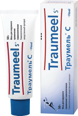 Траумель С, мазь для наружного применения гомеопатическая, 50 г, 1 шт.