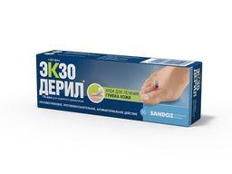 Экзодерил, 1%, крем для наружного применения, 30 г, 1 шт.