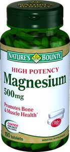 Natures Bounty Магний 500 мг, 500 мг, таблетки, 100 шт.