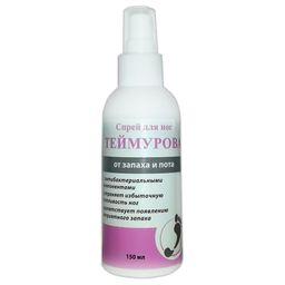 Теймурова спрей для ног от запаха и пота, спрей для наружного применения, 150 мл, 1 шт.