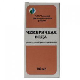 Чемеричная вода, раствор для наружного применения, 100 мл, 1 шт.