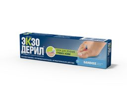 Экзодерил, 1%, крем для наружного применения, 15 г, 1 шт.
