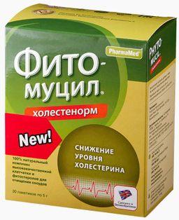 Фитомуцил Холестенорм, порошок, 5 г, 30 шт.