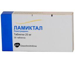 Ламиктал, 25 мг, таблетки, 30 шт.