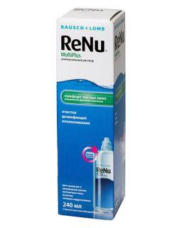ReNu Multi Plus, раствор для обработки и хранения мягких контактных линз, 240 мл, 1 шт.