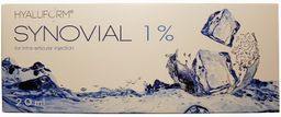 Гиалуформ Синовиаль, 1%, раствор для внутрисуставного введения, 2 мл, 1 шт.