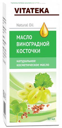 Витатека Масло виноградных косточек, масло косметическое, 30 мл, 1 шт.