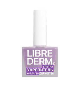 Librederm Лак Ультраукрепитель коллаген, лак для ногтей, 10 мл, 1 шт.