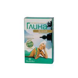 Глина косметическая зеленая с серебром, порошок для приготовления суспензии для наружного применения, 100 г, 1 шт.