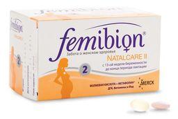 Фемибион Наталкер II, таблеток и капсул набор, 60 шт.