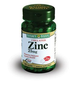 Natures Bounty Хелат Цинка 25 мг, 25 мг, таблетки, 100 шт.