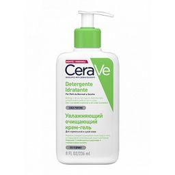 CeraVe Увлажняющий очищающий крем-гель для лица и тела, крем-гель, 236 мл, 1 шт.