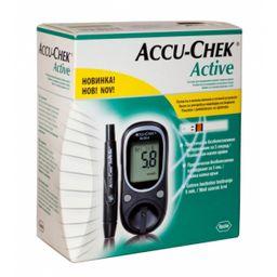 Глюкометр Accu-Chek Active, с принадлежностями, 1 шт.