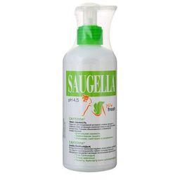 Saugella You fresh Средство для интимной гигиены, мыло жидкое, 200 мл, 1 шт.