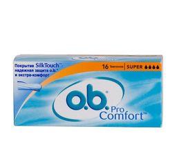 o.b. ProComfort super тампоны женские гигиенические, 16 шт.