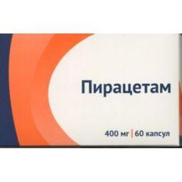 Пирацетам, 400 мг, капсулы, 60 шт.