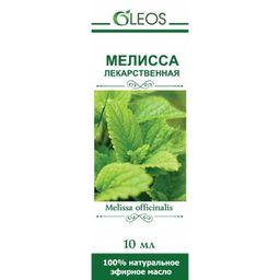 Масло эфирное Мелисса лекарственная, масло эфирное, 10 мл, 1 шт.