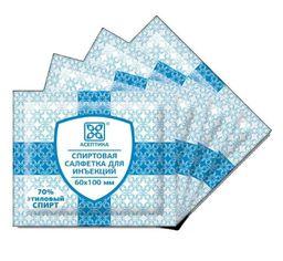 Салфетка антисептическая спиртовая, 100х60 мм, салфетки, 400 шт.