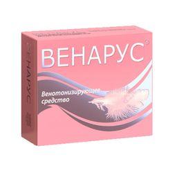 Венарус, 50 мг+450 мг, таблетки, покрытые оболочкой, 60 шт.