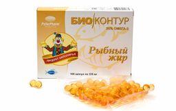 Рыбный жир, 330 мг, капсулы, 100 шт.