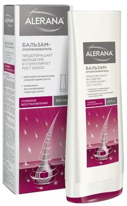 Алерана Бальзам-ополаскиватель Глубокое восстановление, бальзам для волос, 200 мл, 1 шт.