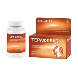 Терафлекс, 500 мг+400 мг, капсулы, 200 шт.